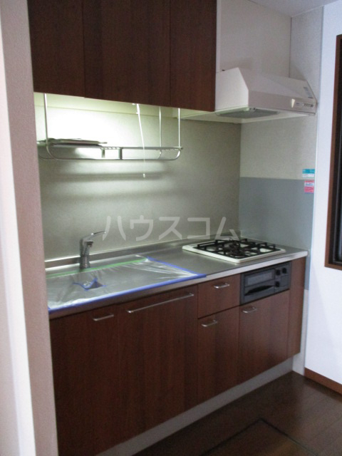 ヴェルドミール 101号室のキッチン