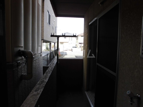 三沢第2マンションりわ 317号室のバルコニー