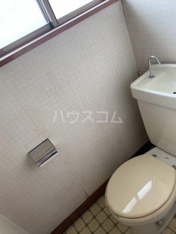 秀和荘 201号室のトイレ