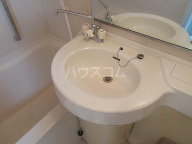ラフィネ新栄 6011号室の洗面所