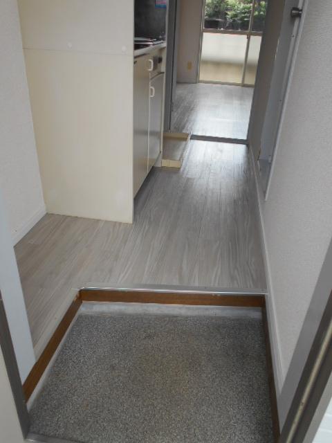 あかるハイム19 110号室の玄関