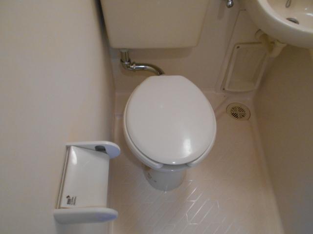 あかるハイム19 110号室のトイレ