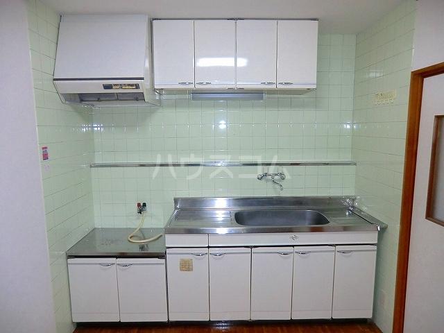 コーラルリーフ 301号室のキッチン