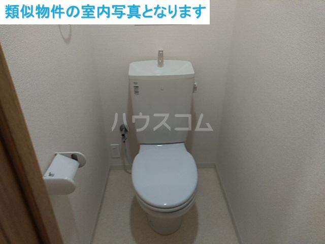 コンフィアンサ 101号室のトイレ