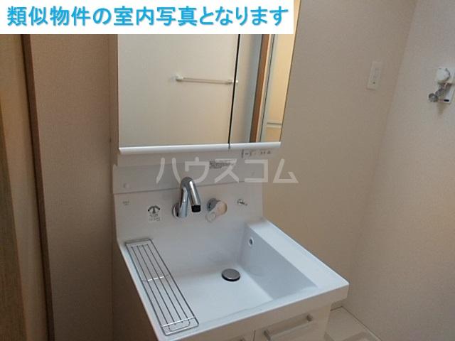 コンフィアンサ 101号室の洗面所
