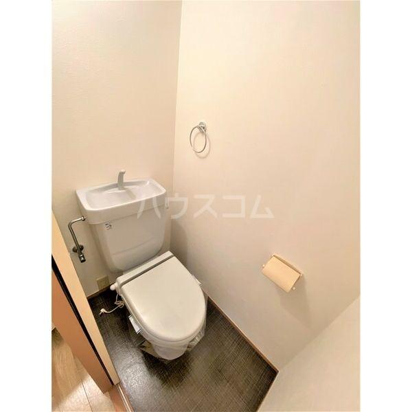 Vg.Tree 1B号室のトイレ