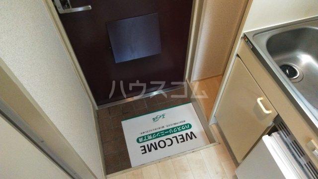 ユニオンK 206号室の玄関