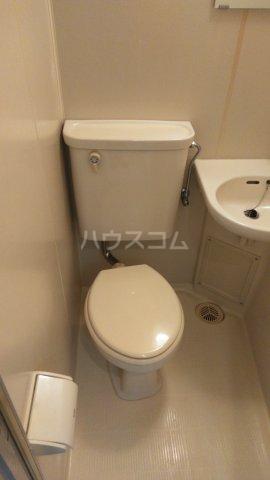 ユニオンK 206号室のトイレ