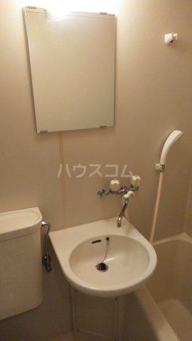 ユニオンK 206号室の洗面所