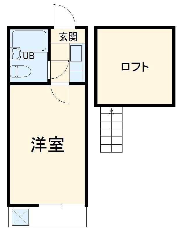 レモンハウス本町(1)・106号室の間取り