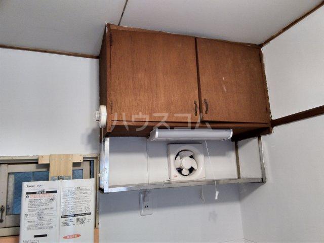 真弓ビル 213号室のキッチン