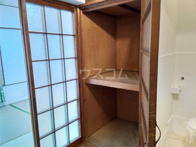 真弓ビル 310号室の収納