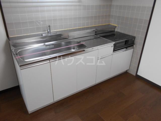 アールロマーシュ 302号室のキッチン