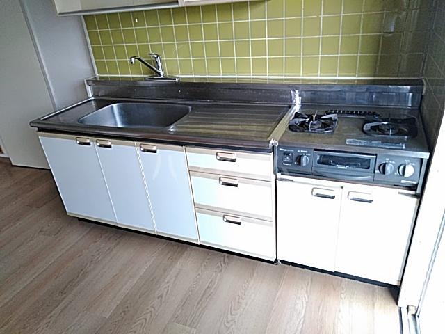 西武郊外マンションC棟 00403号室のキッチン