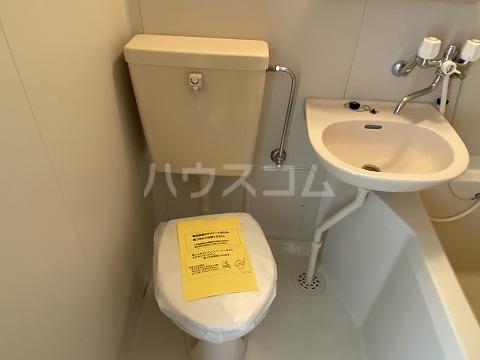 グリーンヒルズ3 101号室のトイレ