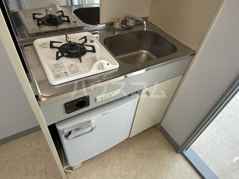 グリーンヒルズ3 101号室のキッチン