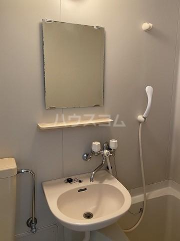 グリーンヒルズ3 101号室の洗面所