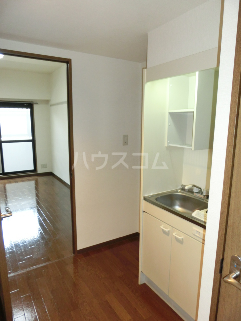 CRECER新栄 102号室のキッチン