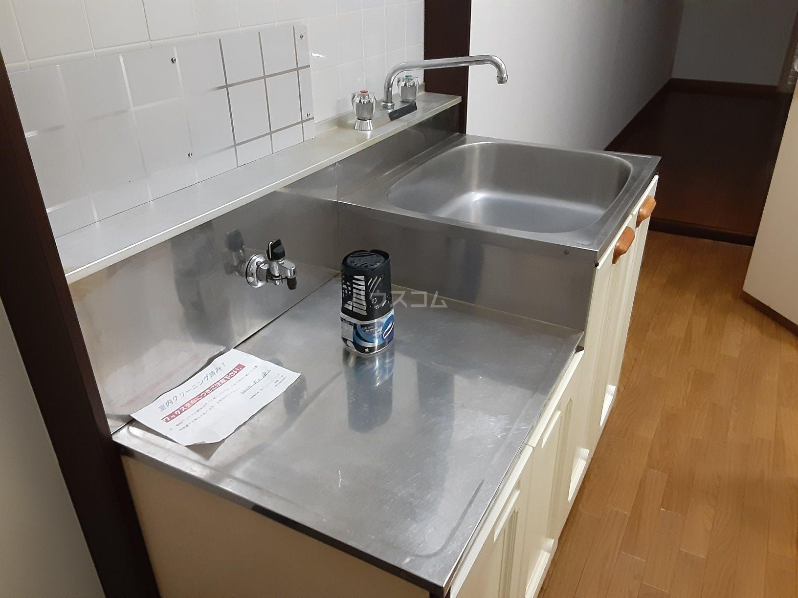 グレース志木B棟 101号室のキッチン