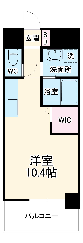 OT.residence名駅・3D号室の間取り