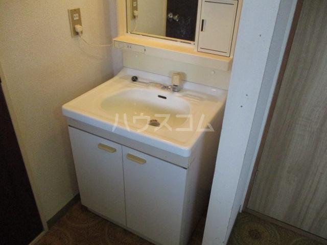 メゾン新井 202号室の洗面所
