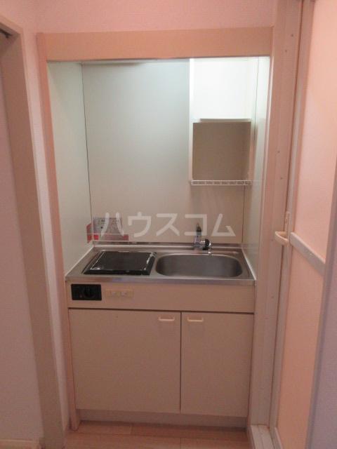 レスパス千種 506号室のキッチン