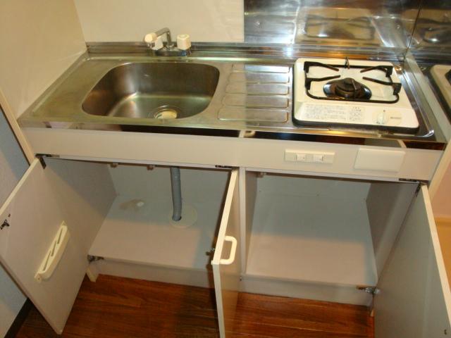 アメニティ名駅 02040号室のキッチン