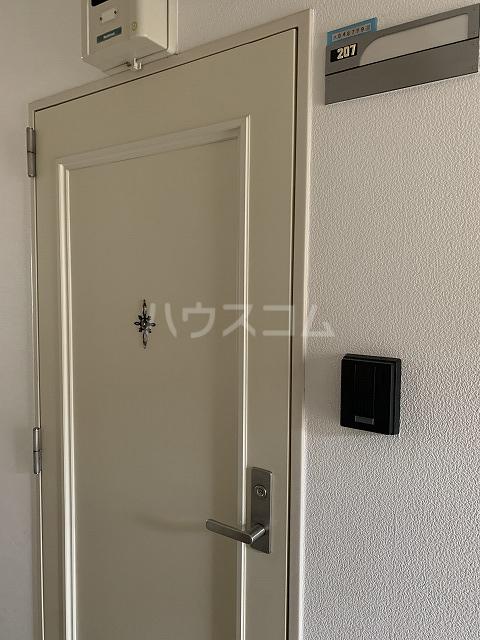 セントラルビルド 207号室の玄関