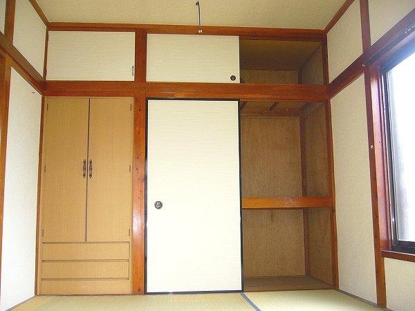サンコーポはぎわら 203号室のベッドルーム