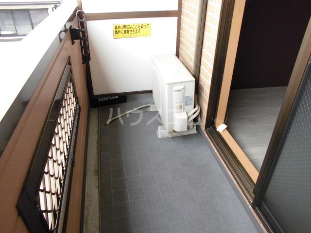 ポポラーレヒロ 203号室のバルコニー
