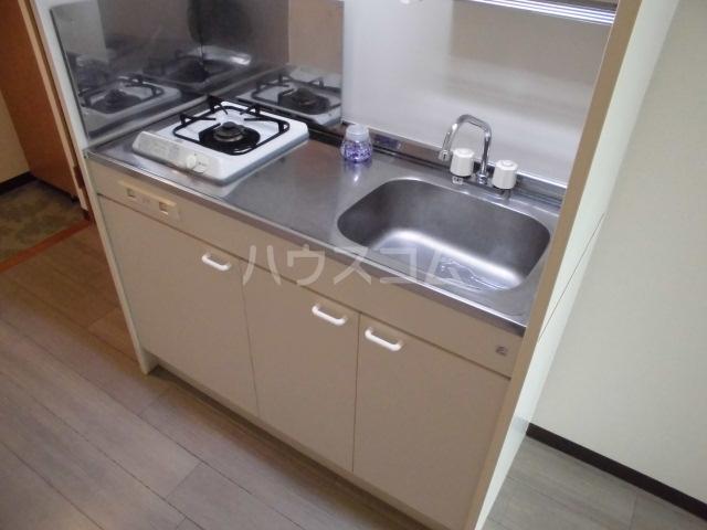 ポポラーレヒロ 203号室のキッチン
