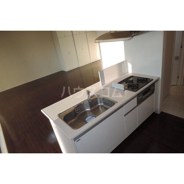 グランルージュ栄Ⅱ 1103号室のキッチン