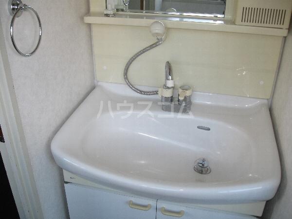 サンパーク千代田 4B号室の洗面所