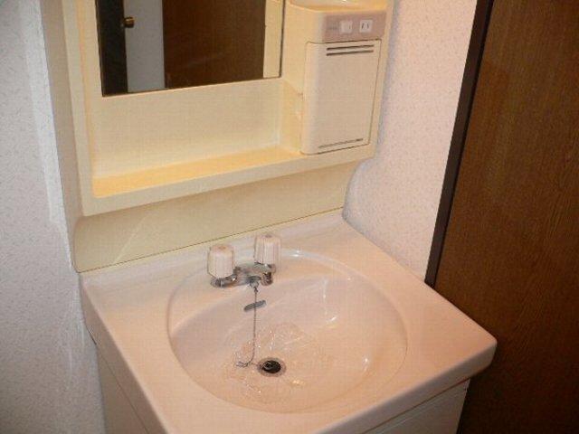 ソレアードⅡ 402号室の洗面所