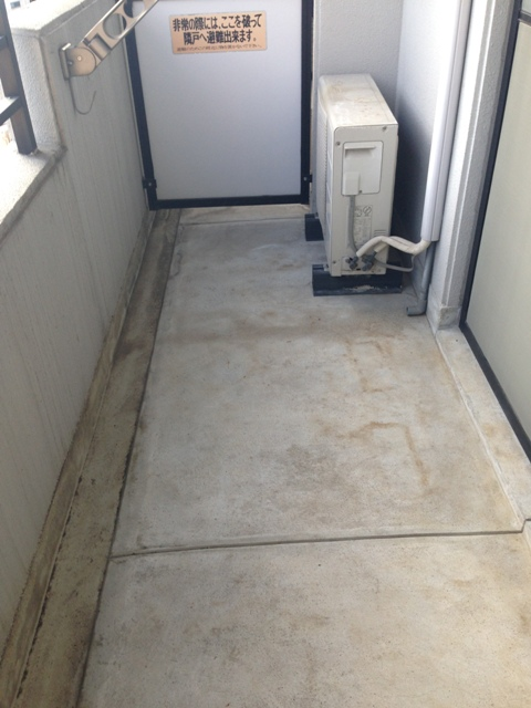 コアレジデンス 1005号室のバルコニー