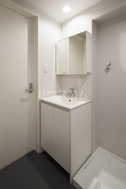 Vella 203号室の洗面所