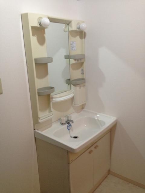 コアレジデンス 1302号室の洗面所