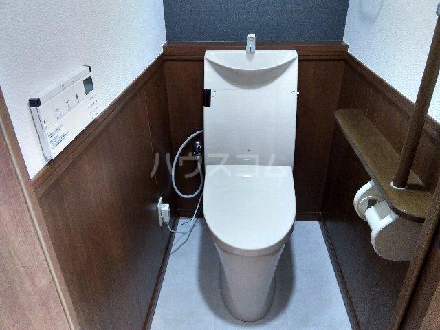 名駅アイリス弐番館 602号室のトイレ