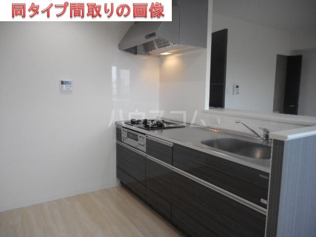 アローム ドゥ ジョア 1403号室のキッチン