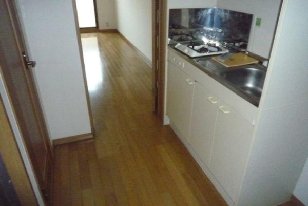 プロヴァンス 1A号室のキッチン
