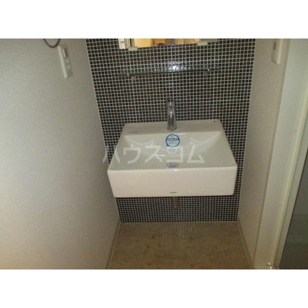 La Douceur山王 213号室の洗面所