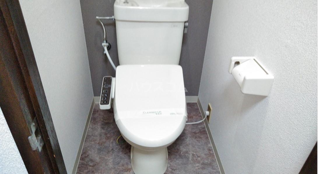 デイジーヒル壱番館 206号室のトイレ