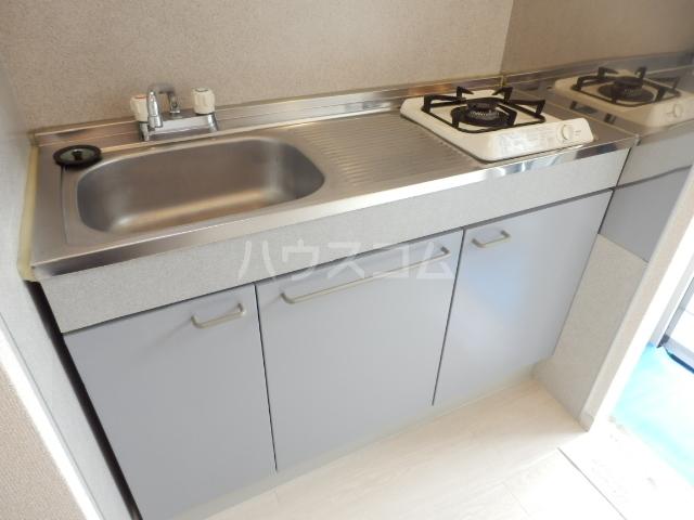 ピアシャンテ 205号室のキッチン