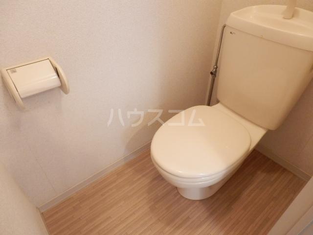 ピアシャンテ 205号室のトイレ
