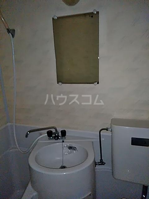 ハイツ石井 202号室の洗面所