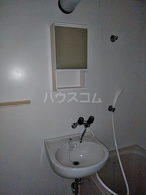 猫実ハウス 101号室の洗面所