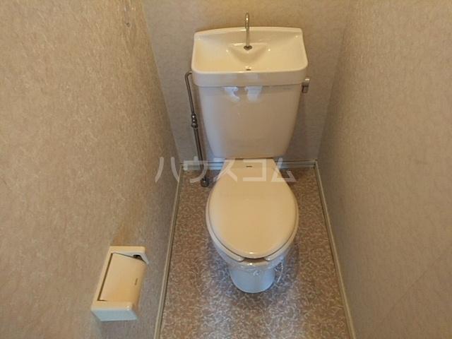 猫実ハウス 202号室のトイレ