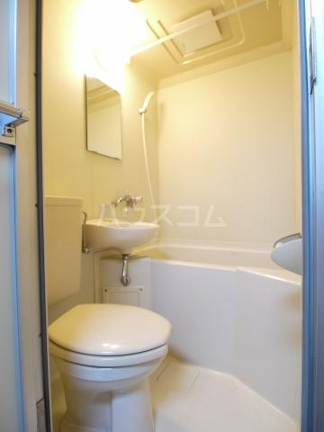 カームハウス日進 201号室の風呂