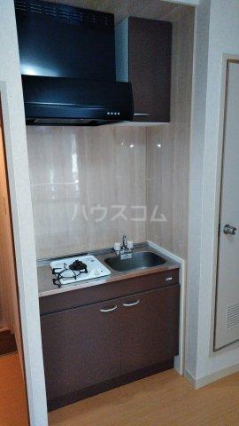 ニットーコーポ 203号室のキッチン