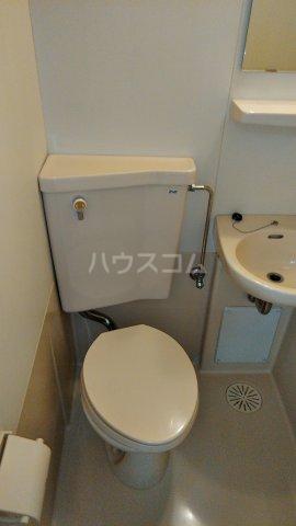 ニットーコーポ 203号室のトイレ